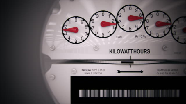 Electricity Meter Time-lapse CG