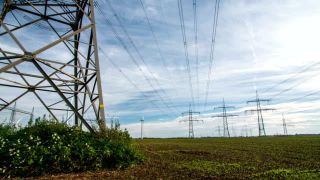 GLEICHMÄSSIGES CAM: Strommasten