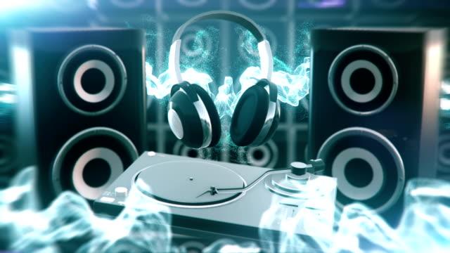 Electronic music (blue) - Loop