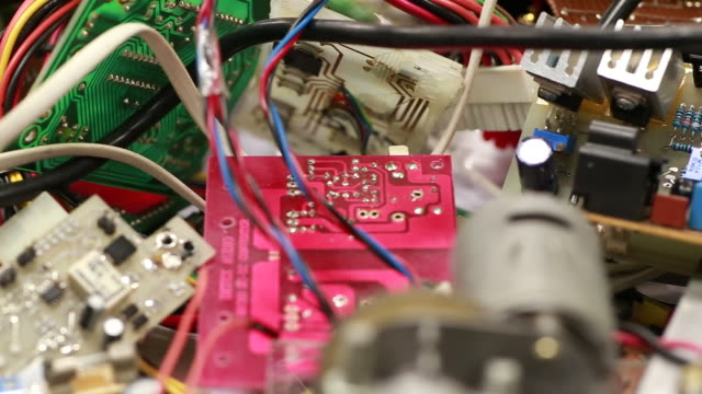Electronics industry waste pollution