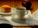 Elegant breakfast setting
