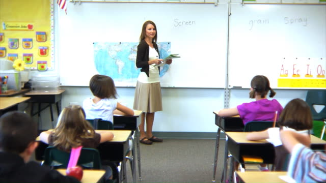 Elementary Classroom Pictures : Elementary school classroom stock footage video getty images