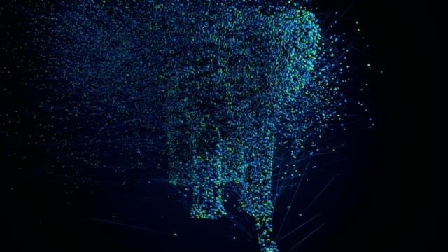 Elephant 3d particles