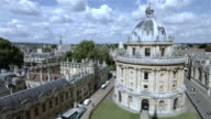 Elevated shot of central Oxford University