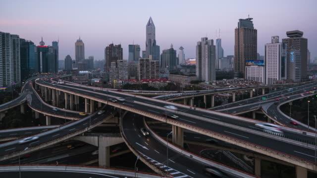 T/L WS ZI verheven weergave van Shanghai Highway