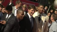 Eli Manning and Anthony Davis at 2012 ESPY Awards on 7/11/2012 in Los Angeles CA