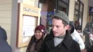 Elijah Wood on Main Street at the Sundance Film Festival in Park City at Celebrity Sightings on January 21 2017 in Park City Utah
