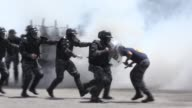 Elite Brazilian police training with French instructors to protect next years Rio Olympics say they are working hard to be ready in case of an...