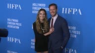 Elizabeth Chambers Armie Hammer at Hollywood Foreign Press Association's Grants Banquet in Los Angeles CA