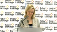 Elizabeth Truss speech on childcare reforms Truss speech SOT In order to improve this we have to attract people into the profession Too many make it...