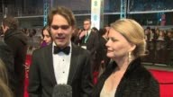 Ellar Coltrane at The EE British Academy Film Awards London England February 8th 2015
