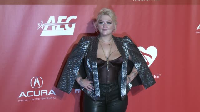 Elle King at MusiCares Person of the Year Honoring Tom Petty in Los Angeles CA