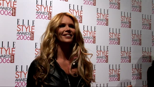 Interviews Elle MacPherson intervew SOT On her own style / On Angelina Jolie as a style icon / On yummy mummies / About being an ambassador for...