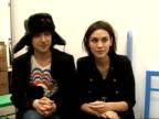 Arrivals / interviews Alexa Chung and Alex Zane talking to each other Alexa Chung and Alex Zane interview SOT
