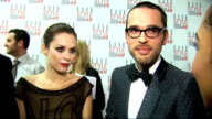Arrivals and interviews Anna Friel Viktor Horsting and Rolf Snoeren interview continues SOT