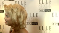 Elle Style Awards in London INT Henry Holland and Pixie Geldof SOT Pixie on wearing Dolce Henry on wearing Mr Scott Henry on his forthcoming LFW show...