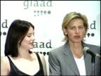 Ellen DeGeneres at the Glaad Awards 99 at Century Plaza in Century City California on April 17 1999