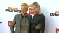 Ellen DeGeneres Portia de Rossi at Netflix's Arrested Development Season Four Los Angeles Premiere 4/29/2013 in Hollywood CA
