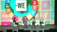 SPEECH Ellen Johnson Sirleaf says stumbling blocks can be stepping stones at WE Day UN at Madison Square Garden on September 20 2017 in New York City