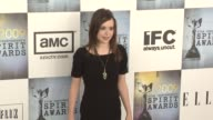 Ellen Page at the Film Independent's 2009 Spirit Awards Arrivals Part 4 at Los Angeles CA