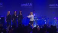 PERFORMANCE Ellie Goulding at 19th Annual amfAR New York Gala at Cipriani Wall Street on February 08 2017 in New York City