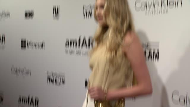 Elsa Hosk at the amfAR Inspiration Gala New York 2014 at The Plaza Hotel on June 10 2014 in New York City