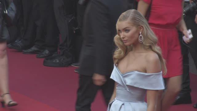 Elsa Hosk at 'The Beguiled' Official Screening Red Carpet at Grand Theatre Lumiere on May 24 2017 in Cannes France