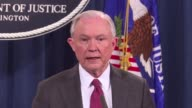 Embattled US Attorney General Jeff Sessions announces that he would recuse himself from any investigation into Donald Trump's election campaign which...