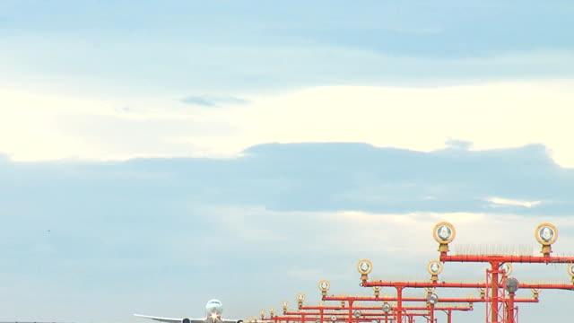 Embraer 190 Airplane Takeoff seq