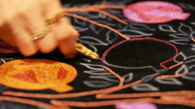 Embroidery Art & hook embroidery