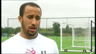 Emergence of Andros Townsend / Hodgson row ENGLAND Essex Enfield DAY Andros Townsend interview SOT People should be reporting on us qualifying for...