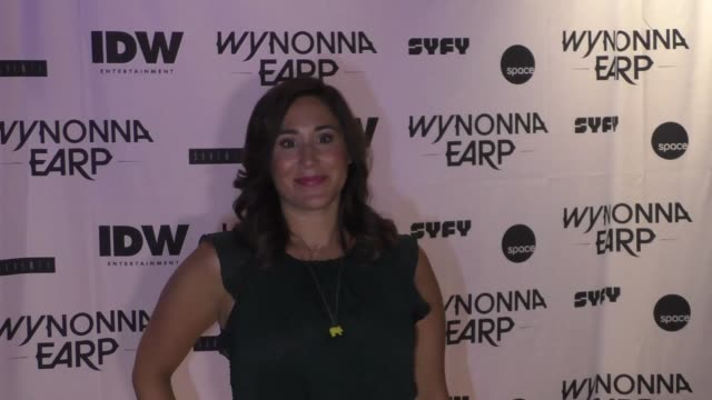 Emily Andras at ComicCon International 2017 'Wynonna Earp' Media Mixer With Cast Fan Appreciation Party on July 20 2017 in San Diego California