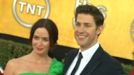 Emily Blunt John Krasinski at 18th Annual Screen Actors Guild Awards Arrivals on 1/29/12 in Los Angeles CA
