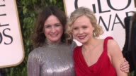 Emily Mortimer Alison Pill at 70th Annual Golden Globe Awards Arrivals on 1/13/13 in Los Angeles CA