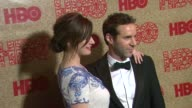 Emily Mortimer and Alessandro Nivola at HBO's Post 2014 Golden Globe Awards Party at Circa 55 Restaurant on in Los Angeles California