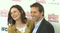 Emily Mortimer and Alessandro Nivola at the 2013 Film Independent Spirit Awards Arrivals on 2/23/13 in Santa Monica CA