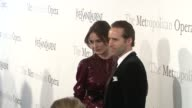 Emily Mortimer and Alessandro Nivola at the The Metropolitan Opera's 125th Anniversary Gala at New York NY