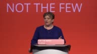 Emily Thornberry jokes about her high five with Jeremy Corbyn post general election as well as a Boris Johnson Brexit paternity test She is speaking...