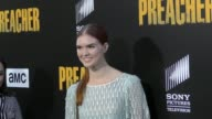 Emily Tyra at the Premiere Of AMC's 'Preacher' Season 2 on June 20 2017 in Los Angeles California
