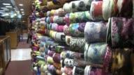 Emirati Traditional Clothing Store in Abu Dhabi United Arab Emirates Shot on November 2012