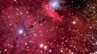 Emission nebula (NGC 6559), optical image.