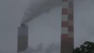 CU Emissions spew out of a large stack at the coal fired Morgantown Generating Station on May 29 2014 in Newburg Maryland Next week President Obama...