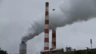 MS Emissions spew out of a large stack at the coal fired Morgantown Generating Station on May 29 2014 in Newburg Maryland Next week President Obama...