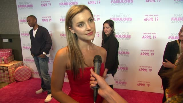 Emma Lahana on attending tonight's screening at the Ashley Tisdale Celebrates The Release Of Her New Film 'Sharpay's Fabulous Adventure' at West...