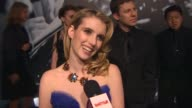Emma Roberts at the 2010 Vanity Fair Oscar Party Hosted By Graydon Carter at West Hollywood CA