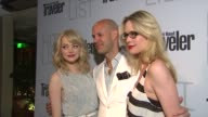 Emma Stone and Stephanie March at the Conde Nast Traveler Hot List Party at West Hollywood CA