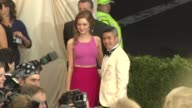 Emma Stone and Thakoon Panichgul at 'Charles James Beyond Fashion' Costume Institute Gala Arrivals at The Metropolitan Museum on May 05 2014 in New...