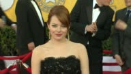 Emma Stone at 18th Annual Screen Actors Guild Awards Arrivals on 1/29/12 in Los Angeles CA