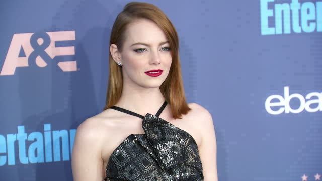 Emma Stone at 22nd Annual Critics' Choice Awards in Los Angeles CA