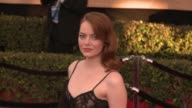 Emma Stone at 23rd Annual Screen Actors Guild Awards Arrivals in Los Angeles CA